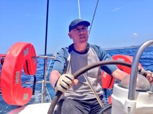 Graeme Innes sailing